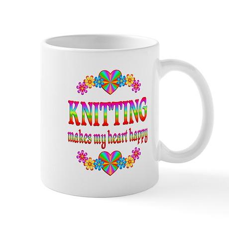 Knitting Happy Mug