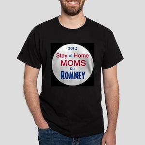 Romney MOMS Dark T-Shirt