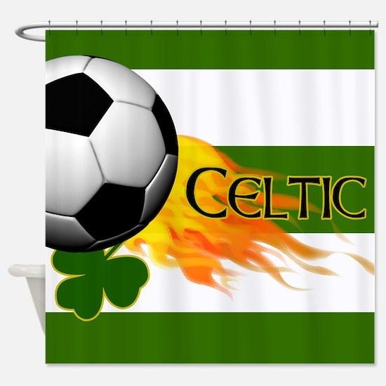 Celtic Irish Football Shower Curtain