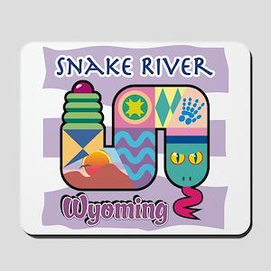 Snake River Wyoming Mousepad