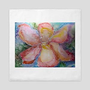 Iris! Flower, art! Queen Duvet