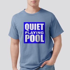 Quiet Playing Pool Mens Comfort Colors Shirt