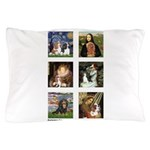Cavalier Famous Art (clr) Pillow Case