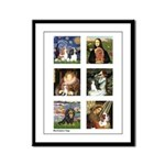 Cavalier Famous Art (clr) Framed Panel Print
