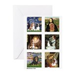Cavalier Famous Art (clr) Greeting Cards (Pk of 20
