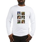 Cavalier Famous Art (clr) Long Sleeve T-Shirt