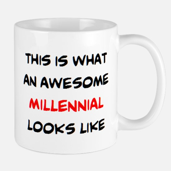 awesome millennial Mug