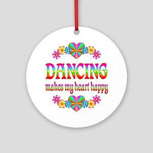 Dancing Happy Ornament (Round)