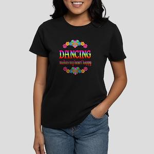 Dancing Happy Women's Dark T-Shirt