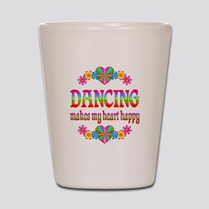 Dancing Happy Shot Glass