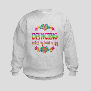 Dancing Happy Kids Sweatshirt