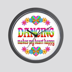 Dancing Happy Wall Clock