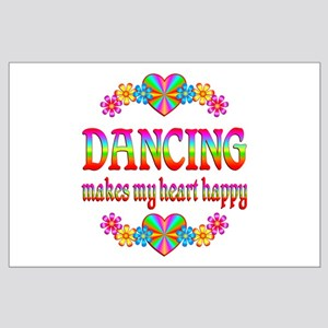 Dancing Happy Large Poster