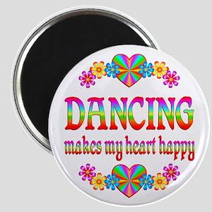 Dancing Happy Magnet