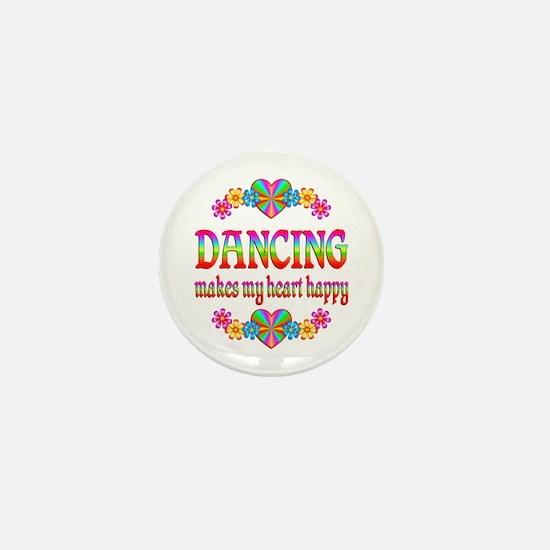 Dancing Happy Mini Button (10 pack)
