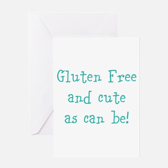 Cute Gluten Greeting Card