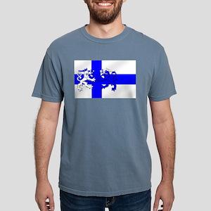 Finnish Lion Flag Mens Comfort Colors Shirt