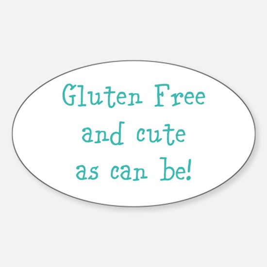 Cute Celiac disease Sticker (Oval)