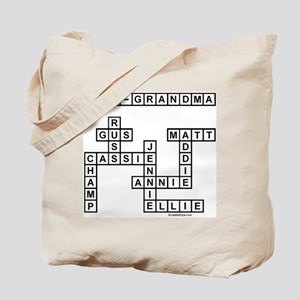 CAMP SCRABBLE-STYLE Tote Bag