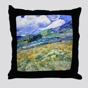 Van Gogh Saint-Remy Throw Pillow