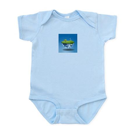 half_earth Infant Bodysuit