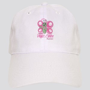 Breast Cancer Cute Butterfly Cap