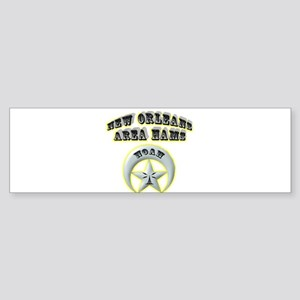 New Orleans Area Hams Sticker (Bumper)