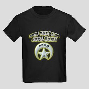 New Orleans Area Hams Kids Dark T-Shirt