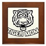 Tiger Mom Framed Tile