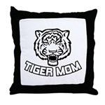 Tiger Mom Throw Pillow