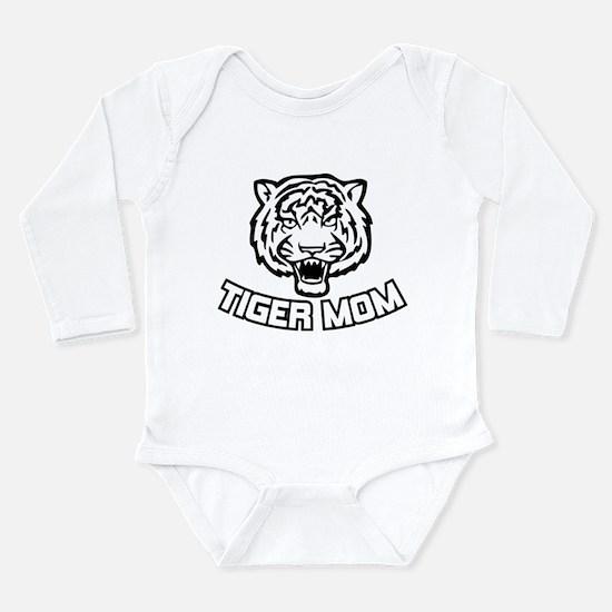 Tiger Mom Long Sleeve Infant Bodysuit