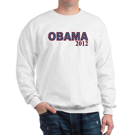 Starry OBAMA 2012 Sweatshirt