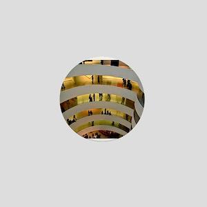 Guggenheim Museum: New York C Mini Button