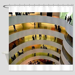 Guggenheim Museum: New York C Shower Curtain
