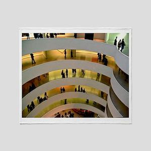 Guggenheim Museum: New York C Throw Blanket