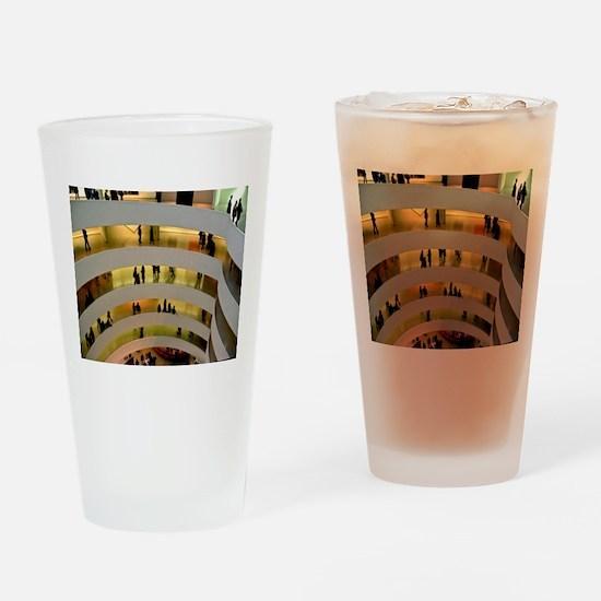 Guggenheim Museum: New York C Drinking Glass