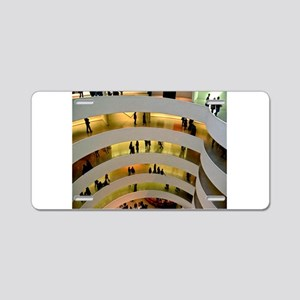 Guggenheim Museum: New York C Aluminum License Pla