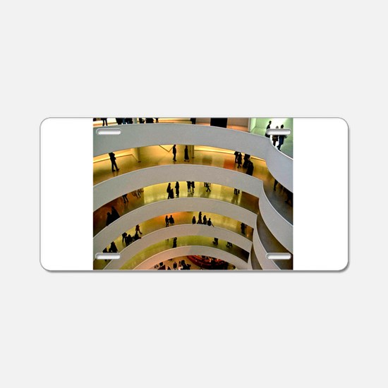 Guggenheim Museum: New York C Aluminum License Pla