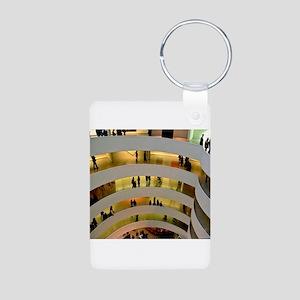 Guggenheim Museum: New York C Aluminum Photo Keych
