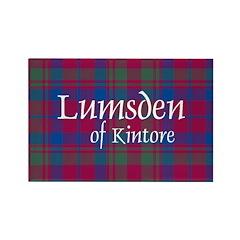 Tartan - Lumsden of Kintore Rectangle Magnet (100