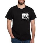 MAYB Crest Black T-Shirt