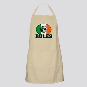 Irish Celtic Football Rules Apron