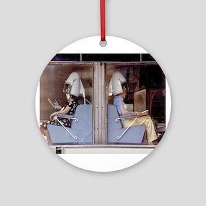 Saturday Morning Astronauts Ornament (Round)