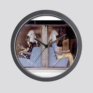 Saturday Morning Astronauts Wall Clock