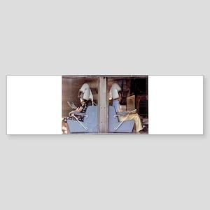 Saturday Morning Astronauts Sticker (Bumper)