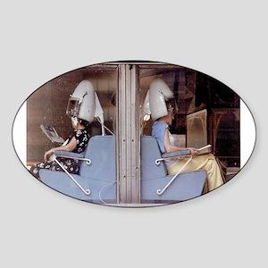 Saturday Morning Astronauts Sticker (Oval)