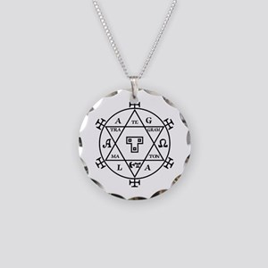 hexagram of solomon Necklace Circle Charm