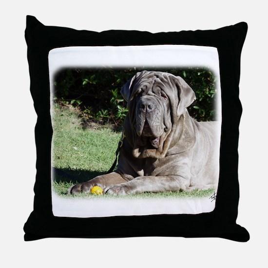 Neapolitan Mastiff AA018D-069 Throw Pillow
