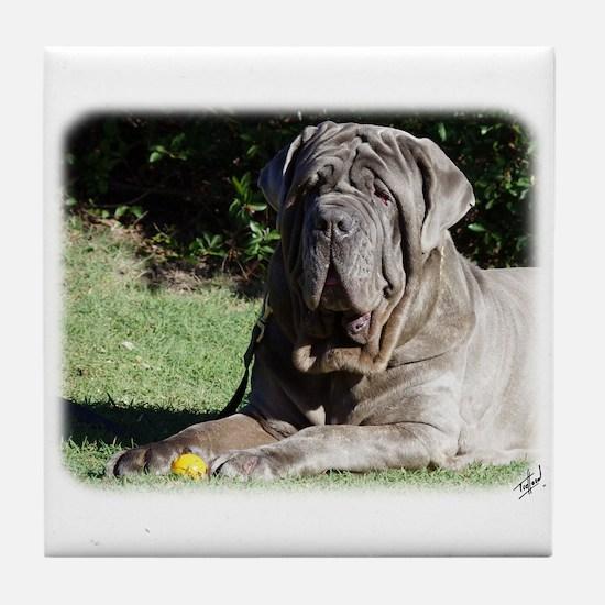 Neapolitan Mastiff AA018D-069 Tile Coaster