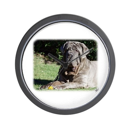 Neapolitan Mastiff AA018D-069 Wall Clock